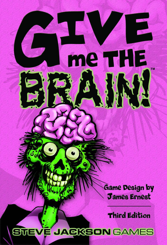 Give Me The Brain 3Rd Ed Card Game