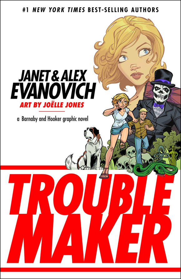 Janet Evanovich Troublemaker Tp