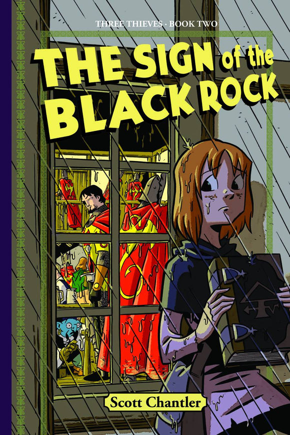 Three Thieves Gn Vol 02 Sign O/T Black Rock