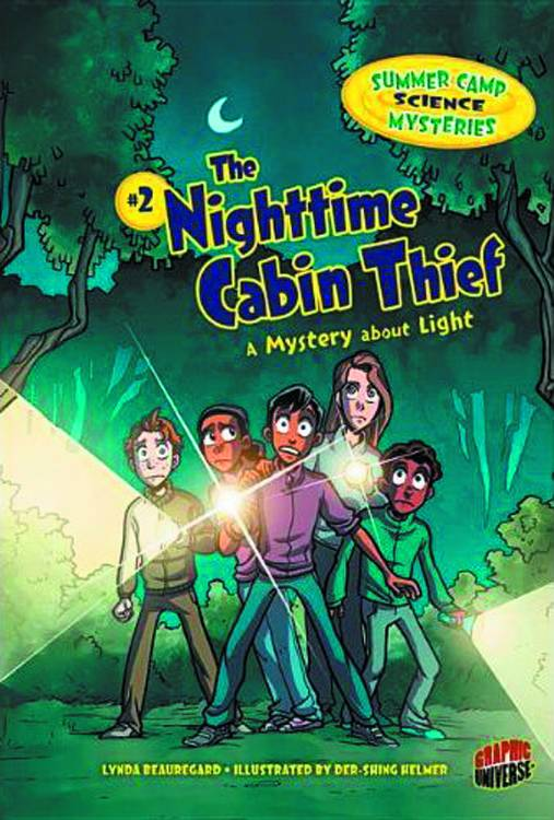 Summer Camp Science Mysteries Vol 02 Nightmare Cabin Thief