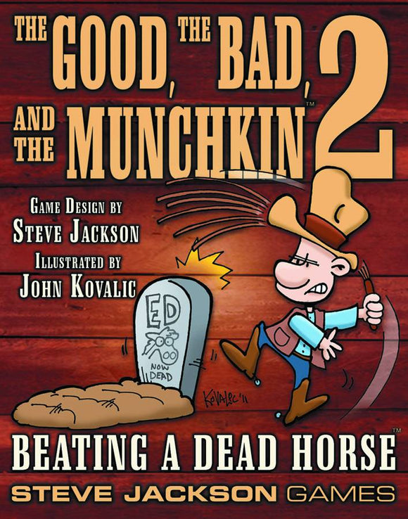 Good The Bad And The Munchkin 2 Card Game