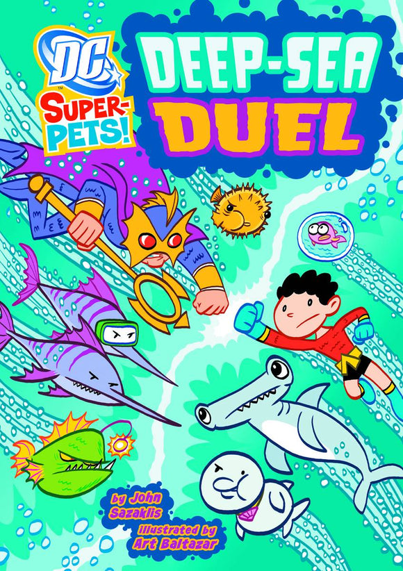 Dc Super Pets Yr Tp Deep Sea Duel