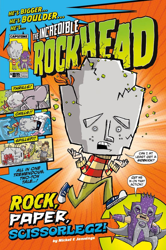 Incredible Rockhead Gn Vol 01 Rock Paper Scissorlegz