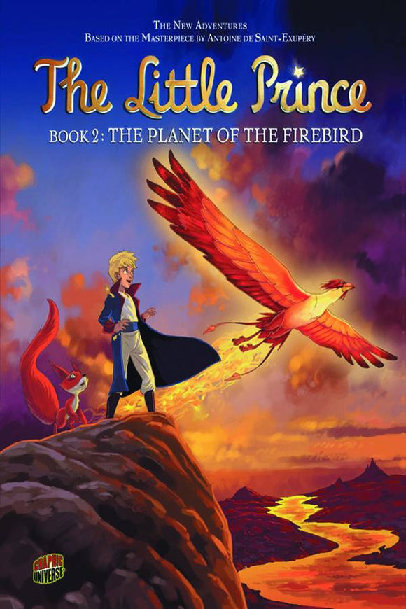 Little Prince Gn Vol 02 Planet Of The Firebird