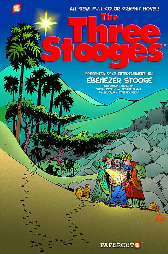 Three Stooges Gn Vol 02 Ebenezer Stooge