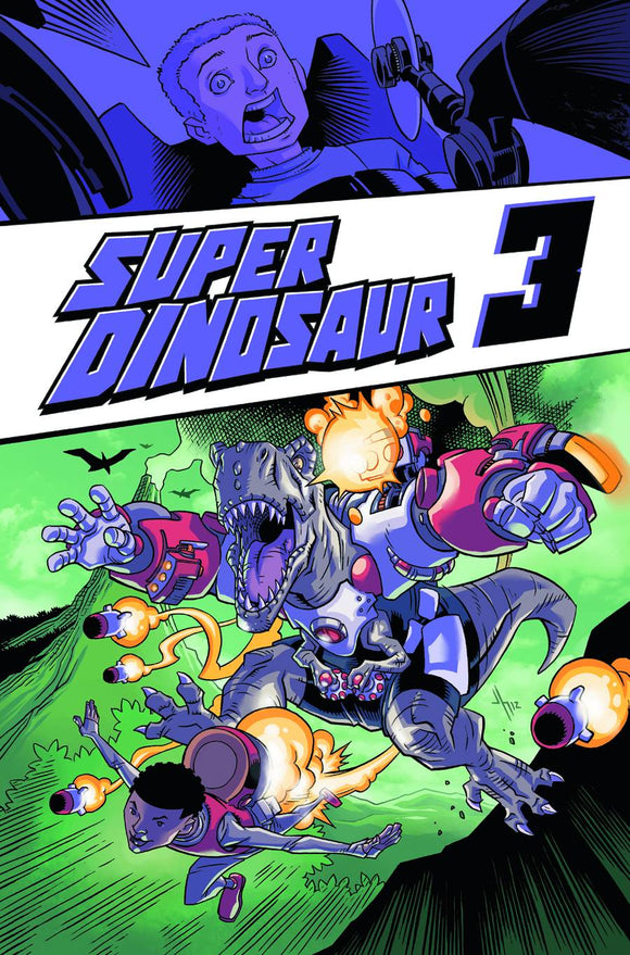 Super Dinosaur Tp Vol 03