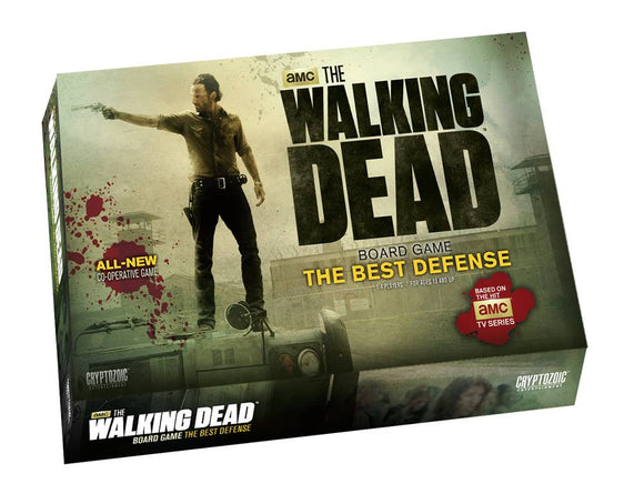 The Walking Dead Tv Board Game The Best Defense
