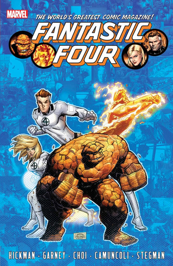 Fantastic Four By Jonathan Hickman Tp Vol 06