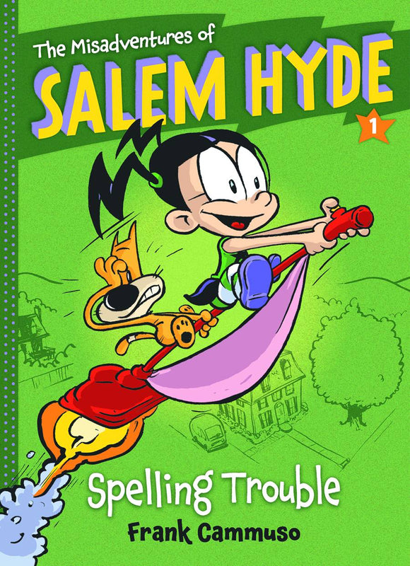 Misadventures Of Salem Hyde Sc Vol 01 Spelling Trouble