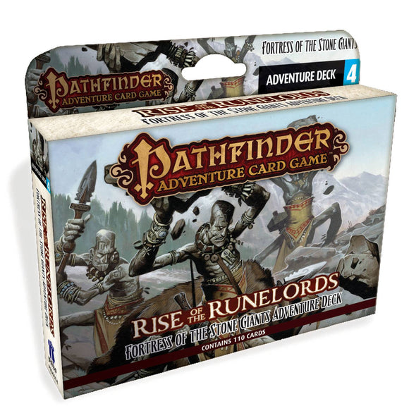 Pathfinder Adv Card Game Fortress O/T Stone Giants Adv Deck