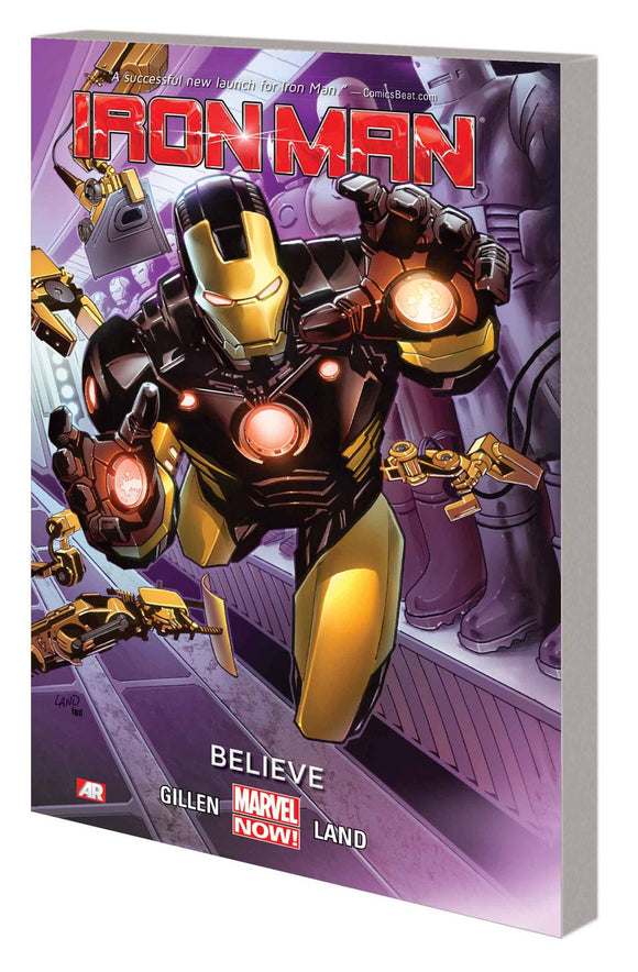 Iron Man Tp Vol 01 Believe