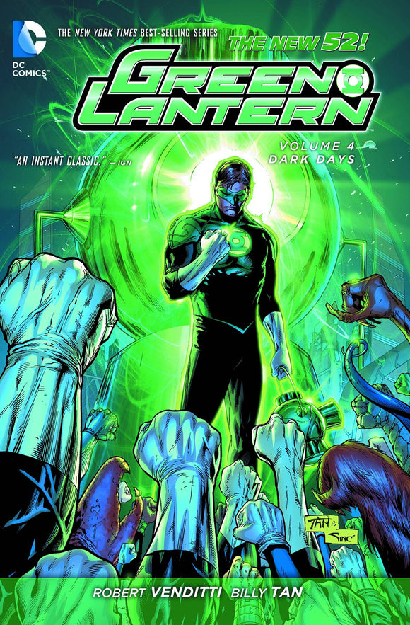 Green Lantern Tp Vol 04 Dark Days