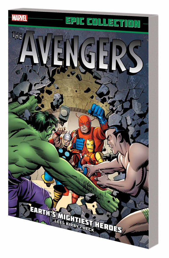 Avengers Epic Collection TP Earths Mightiest Heroes - Books