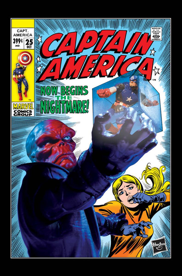Captain America #25 Hasbro Variant - BACK ISSUES