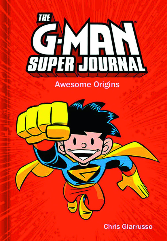 G-Man Super Journal Awesome Origins