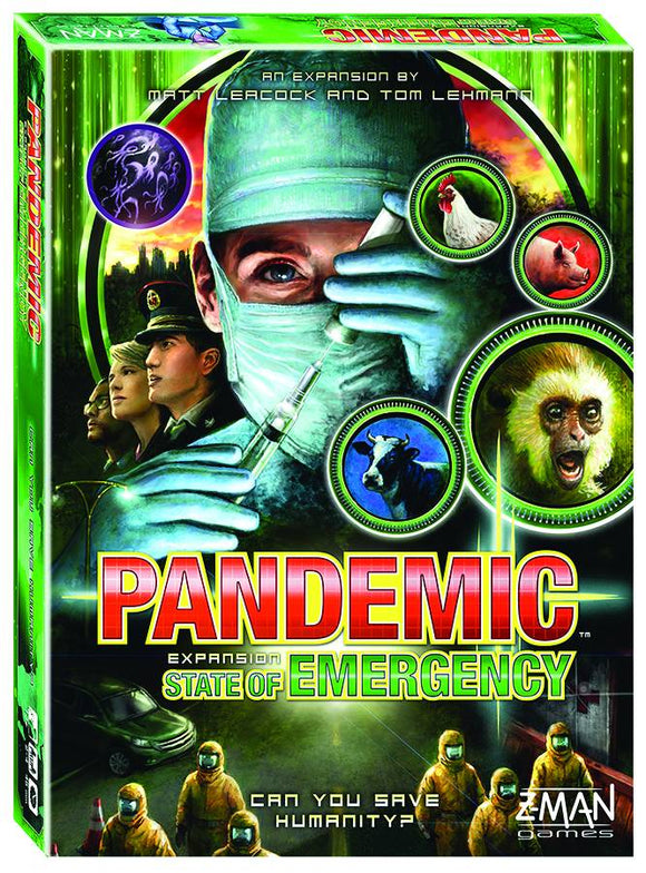 Pandemic State Of Emergency Board Game Exp