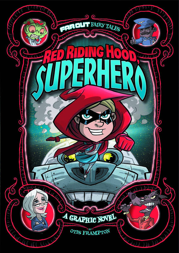 Red Riding Hood Superhero Gn