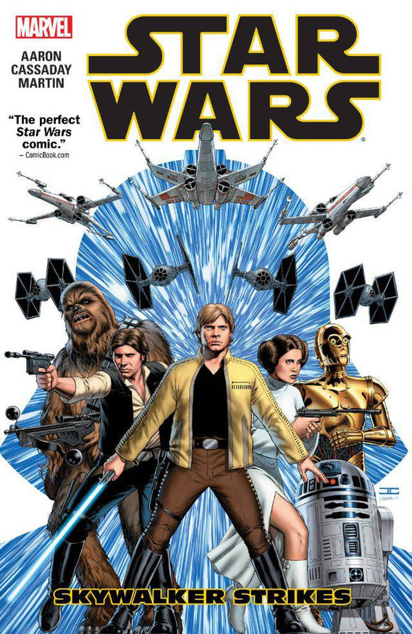 Star Wars TP Vol 01 Skywalker Strikes - Books