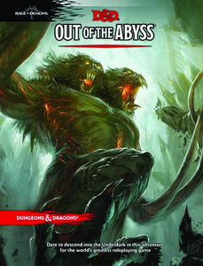 Dungeons & Dragons Next Out Of The Abyss Hc