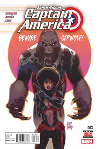 Captain America Sam Wilson #3 - BACK ISSUES