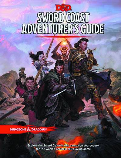 Dungeons & Dragons Next Sword Coast Adv Guide HC - Games