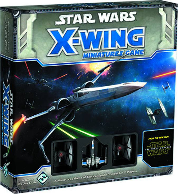 Star Wars E7 Force Awakens X-Wing Minis Game Core Set