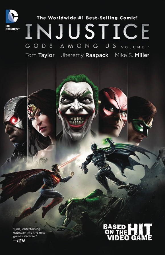 Injustice Gods Among Us Year One Complete Coll Tp