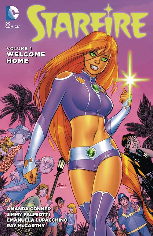 Starfire Tp Vol 01 Welcome Home
