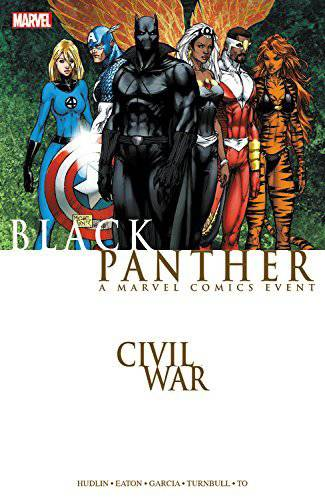 Civil War Black Panther Tp New Ptg