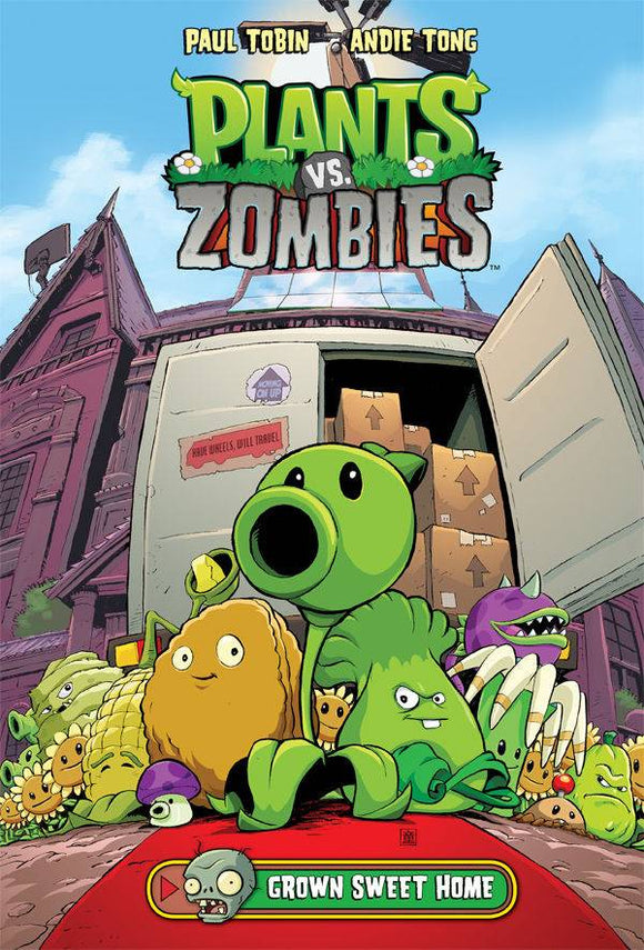 Plants Vs Zombies Grown Sweet Home HC - Books