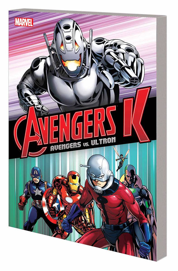 Avengers K Tp Book 01 Avengers Vs Ultron