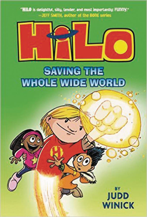 Hilo Gn Vol 02 Saving The Whole Wide World