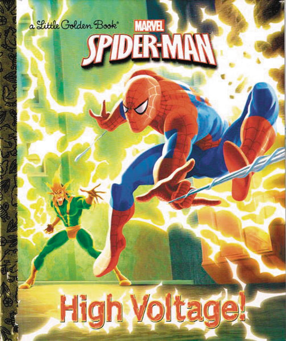 Spider Man High Voltage Little Golden Book Reissue