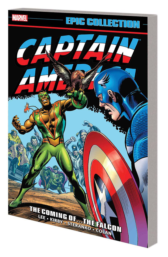 Captain America Epic Collection Tp Coming Of Falcon