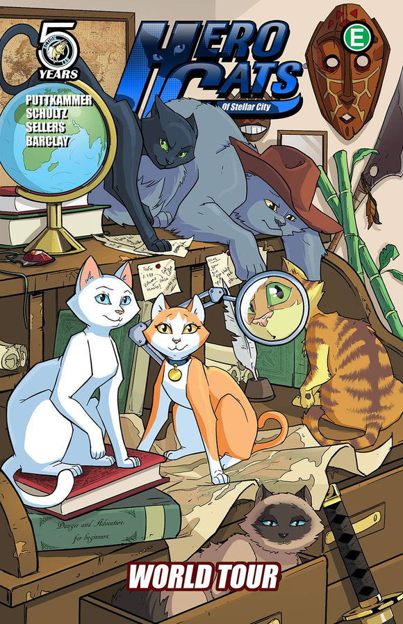 Hero Cats Tp Vol 04 World Tour
