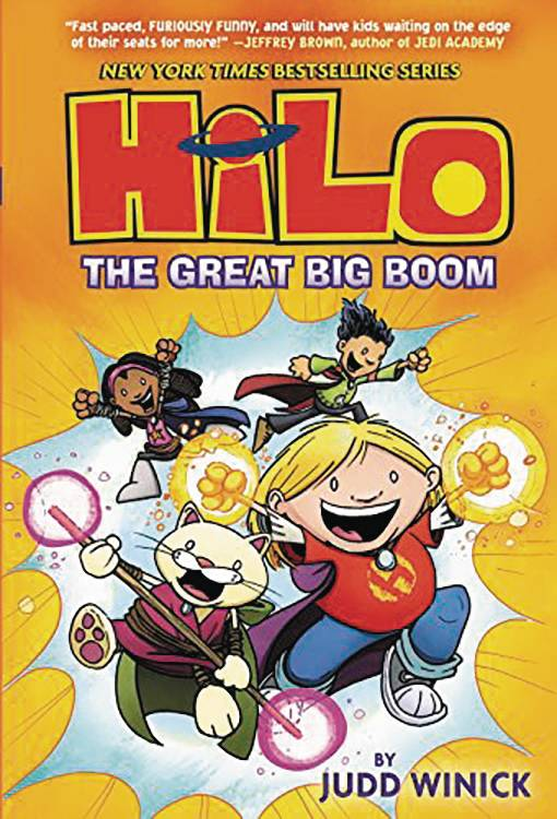 Hilo Gn Vol 03 Great Big Boom