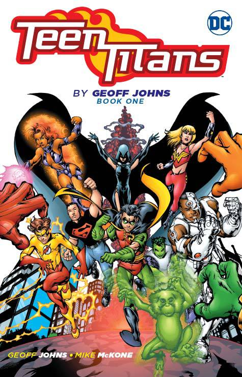 Teen Titans By Geoff Johns Tp Book 01