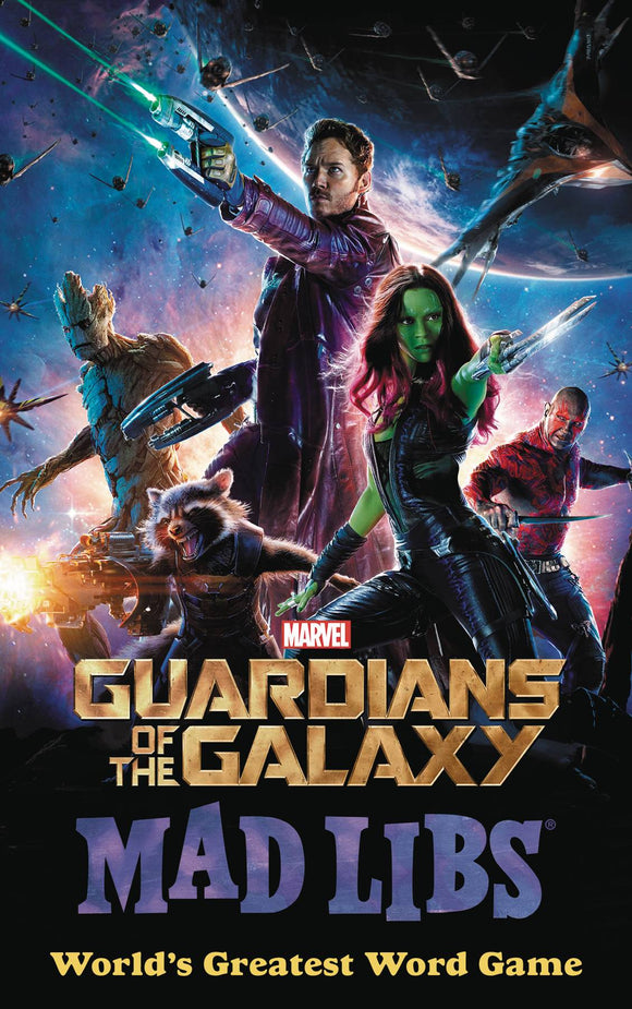 Marvel Guardians Of Galaxy Mad Libs