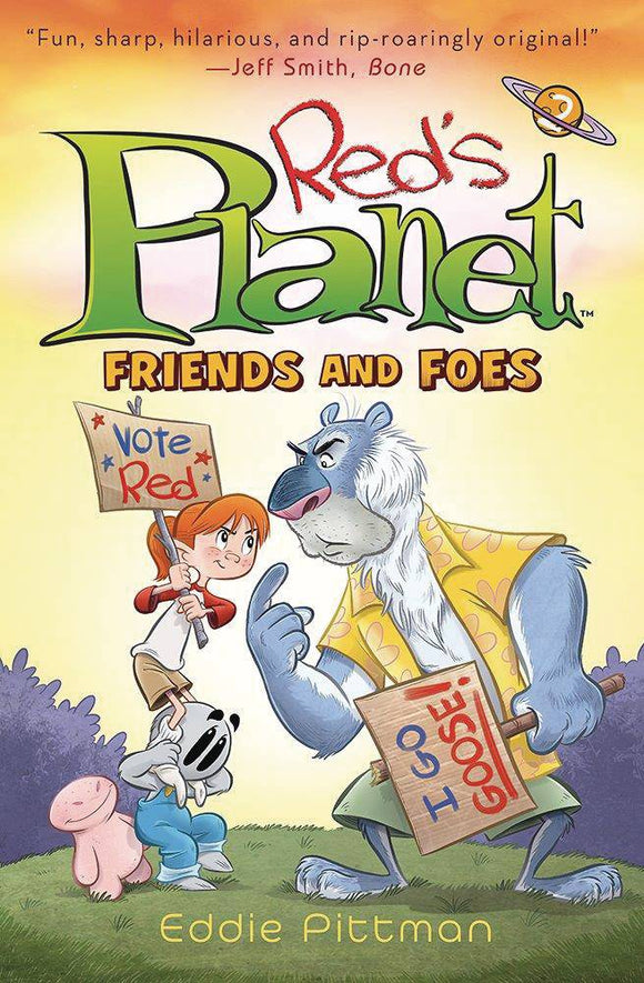 Reds Planet Gn Vol 02 Friends & Foes