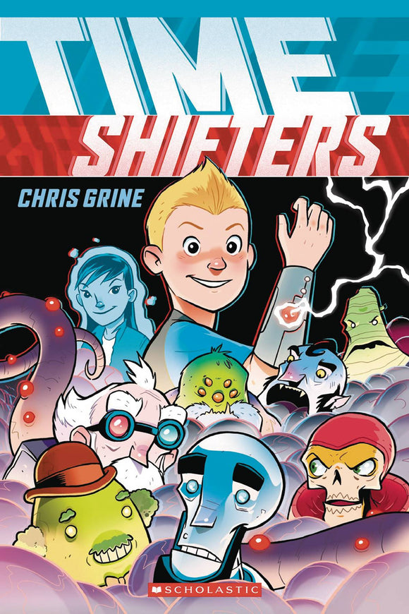 Time Shifters Gn Vol 01