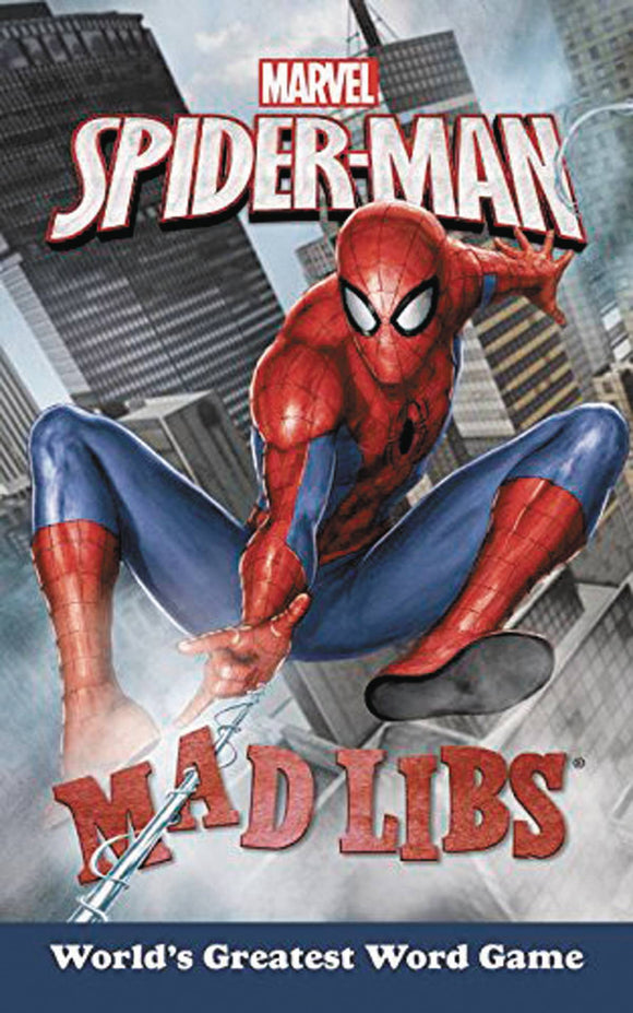 Marvel Spider-Man Mad Libs