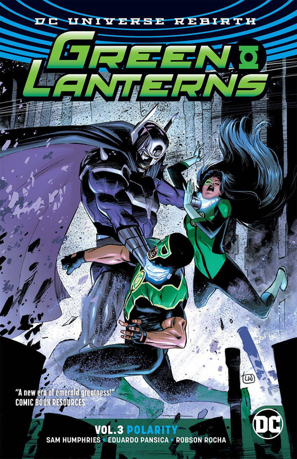 Green Lanterns Tp Vol 03 Polarity