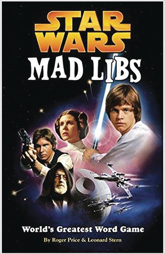 Star Wars Mad Libs Dlx Ed