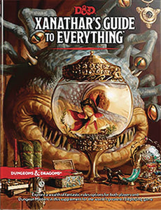 Dungeons & Dragons Rpg Xanathar Guide to Everything HC - Games