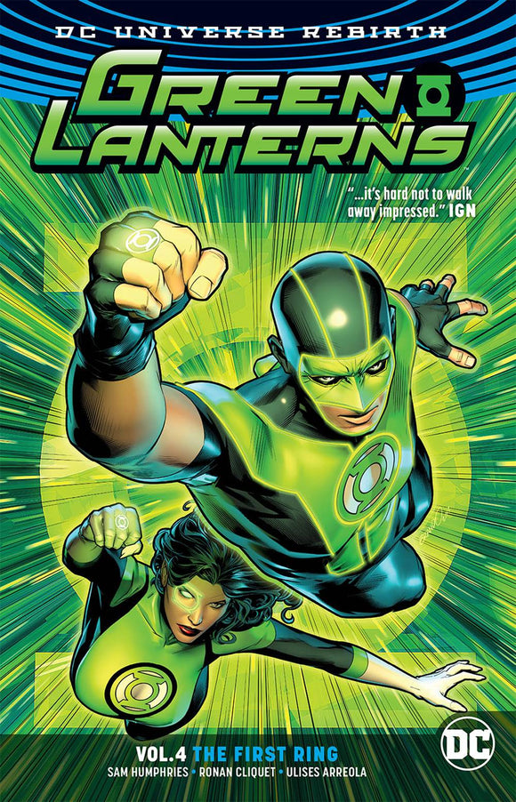 Green Lanterns Tp Vol 04 The First Rings