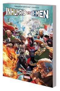 Inhumans Vs X-Men Tp