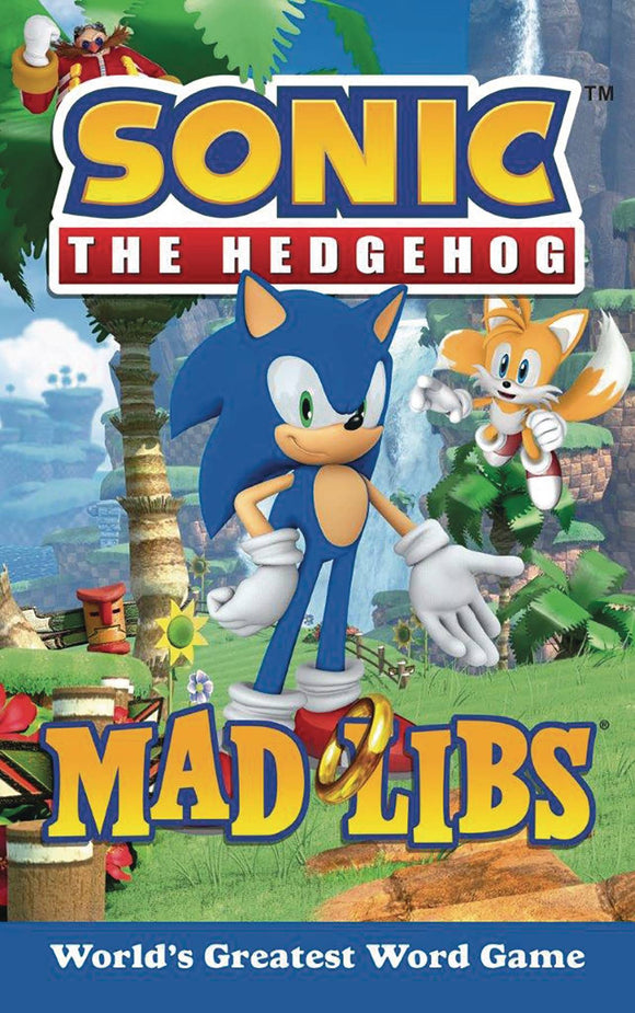 Sonic The Hedgehog Mad Libs Sc
