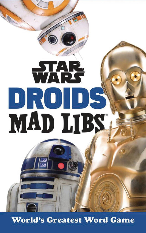 Star Wars Droids Mad Libs Sc