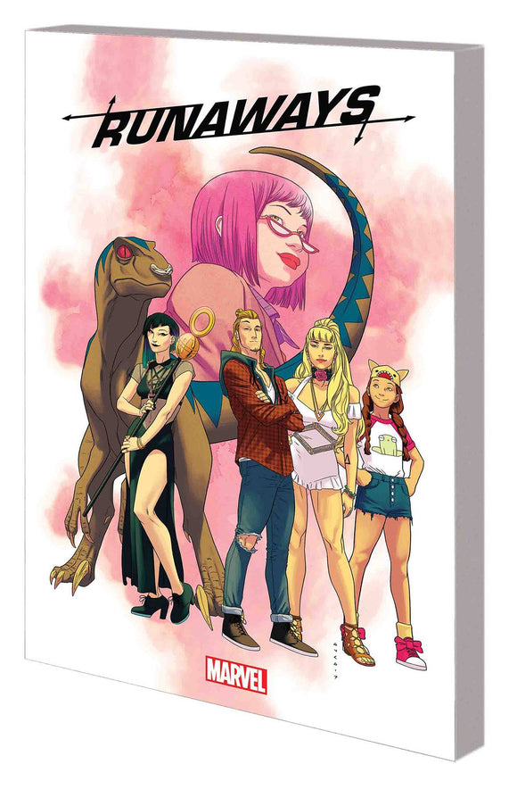 Runaways By Rainbow Rowell Tp Vol 01 Find Your Way Hom