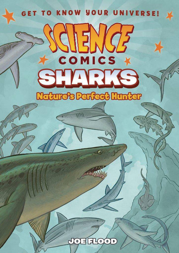 Science Comics Sharks Gn
